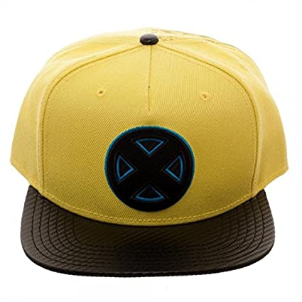 Amazon.com  X-Men Carbon Fiber Snapback Baseball Hat  Toys   Games 5a9834da577