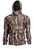 Waterfowl Camo Waterproof Breathable Rain Jacket