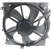 MAPM Premium SONATA 15-16 RADIATOR FAN ASSEMBLY, Single Fan, 1.6L/2.0L