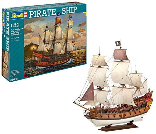 (Revell of Germany Pirate Ship Plastic Model Kit)