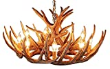 Antler Chandelier 12 Antler Cascade with 9 Lights by Muskoka Lifestyle Products no Assembly required Made In the USA! 33″ Diameter X 15″ Tall
