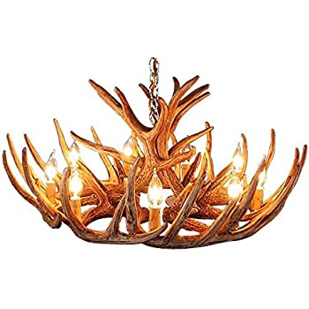 This Item Antler Chandelier 12 Antler Cascade With 9 Lights By Muskoka  Lifestyle Products No Assembly Required Made In The USA