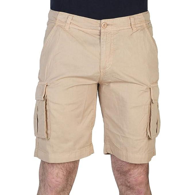 U.S.POLO ASSN.. - Pantalón Corto - para Hombre Beige W32: Amazon ...