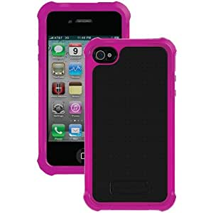 Ballistic Iphone 4 And 4s Sg Case (hot Pink And Black)