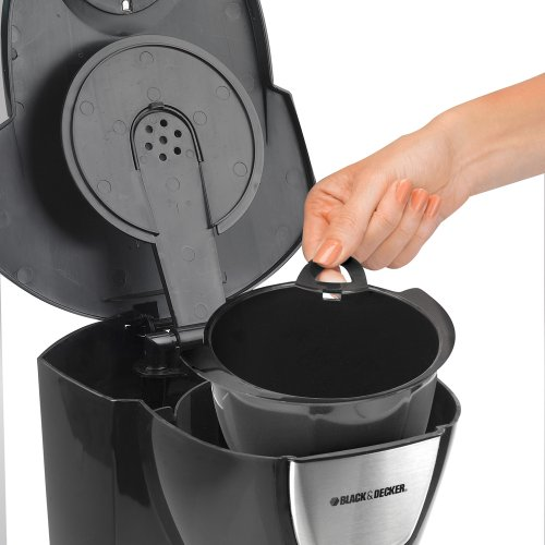 Image of Black & Decker DCM100B 12-Cup Programmable Coffeemaker with Glass Carafe,