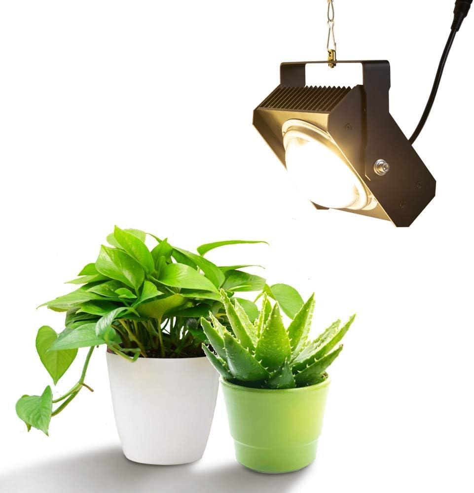 Lámpara de la planta LED crece la luz, el espectro completo de 100W LED luz de la planta, Tiene efecto buena disipación de calor, for la cubierta del jardín hidropónico las plantas de invernadero Crec