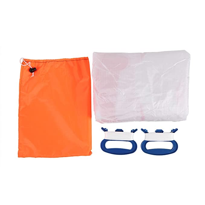 Amazon.com : Docooler Outdoor Sports 2m Power Soft Kite Dual Line Stunt Parafoil Kite with Handle 30m Line : Sports & Outdoors