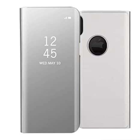 custodia portafoglio a specchio iphone x