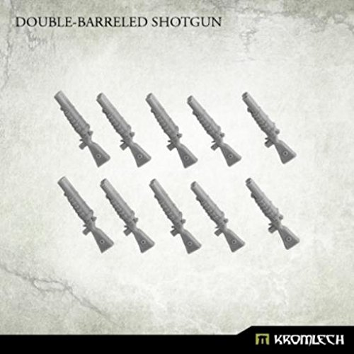 Sci-Fi Miniatures - Imperial Highlanders Double-Barreled Shotguns