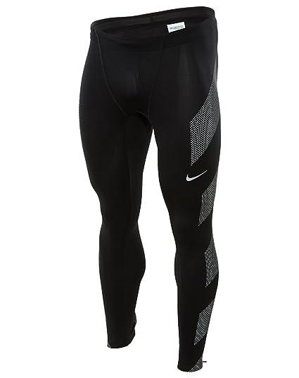 bf7302803218ce Amazon.com : Nike Men's Dri-FIT Flash Running Tights, Black/Reflective  Silver, Medium : Clothing