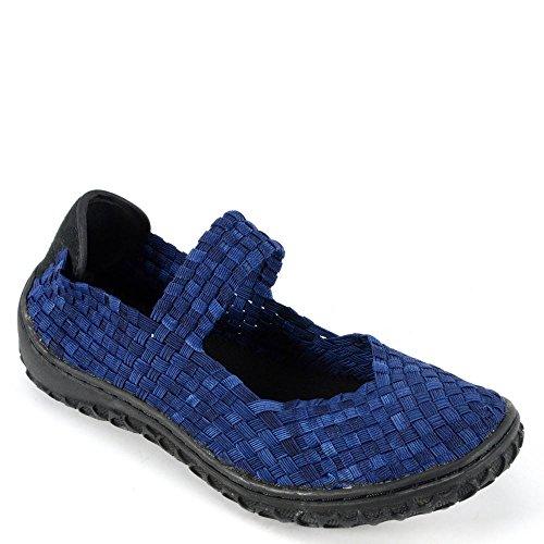 Flats Denim Fashion Womens Woven Shoes Corkys Liz ZIxRTgwnqF