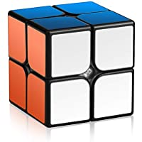 Roxenda 2x2 Speedcube Magic Cube 2x2x2 Speed cube Puzzles Black