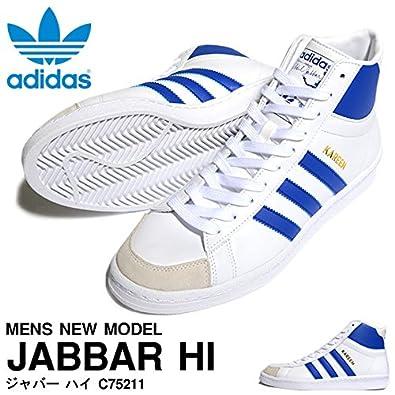 655ead76b81a adidas Men Originals Jabbar Hi Shoes Color White Collegiate Royal White  Vapour C75211 (UK10.5 EU45 1 3)  Amazon.co.uk  Shoes   Bags