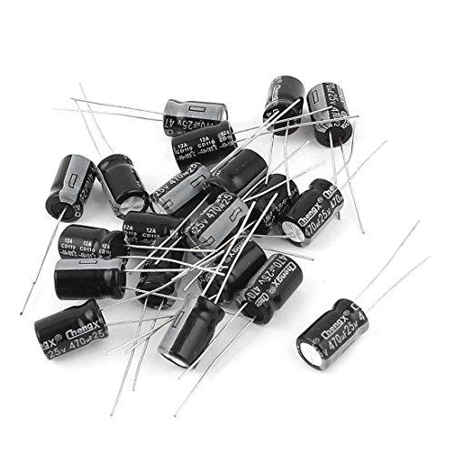 25v Radial Electrolytic Capacitor - 3