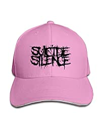 Suicide Silence Sandwich Adjustable Peaked Bill Hat Ash