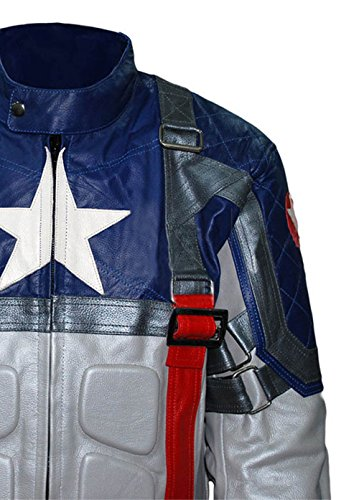 Chris America Giacca Avengers Prima Evans Captain I0Uwqw