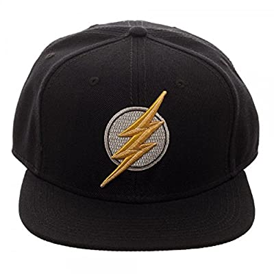 DC Comics Justice League Movie Flash Icon Embroidered Snapback