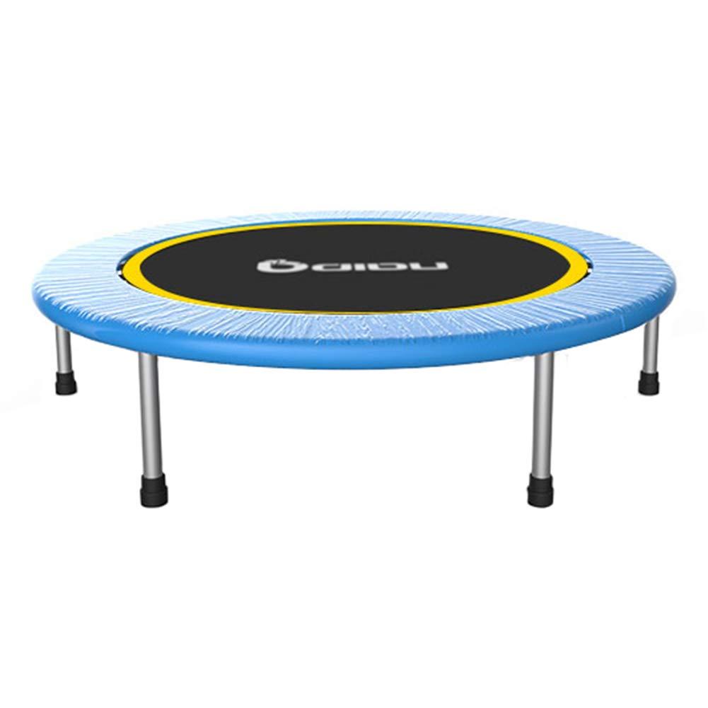 Trampolin, Mini-Klapptrampolin 40-Zoll-Fitness-Prahler für Erwachsene und Kinder Ideal für Innen oder Außen, 200KG max
