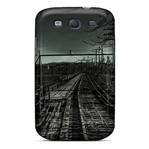 For FZMPdWG2256nbhXi Old Railroad Protective Case Cover Skin/Galaxy S3 Case Cover