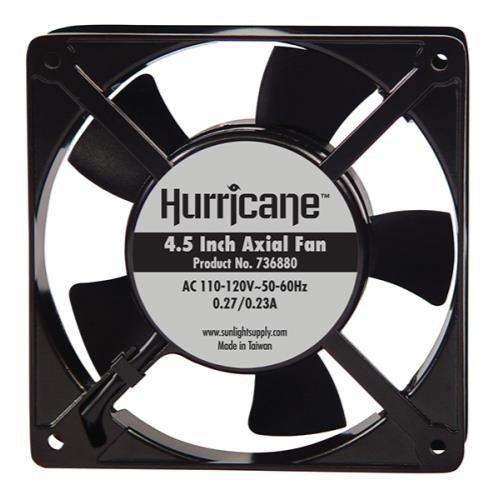 Sunlight Hurricane 4.5-Inch Axial Fan for Greenhouses, 11...