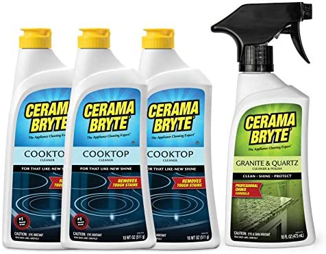 General Electric WX10X350 Cerama Bryte Cleaning Pads Package of 4