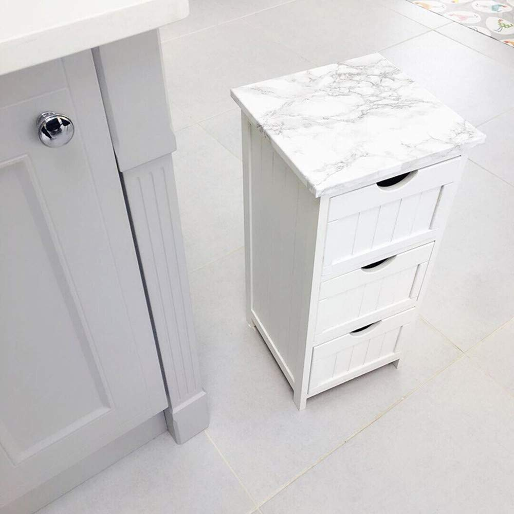Amazon.com: Rollo de papel con estilo mármol granito gris ...