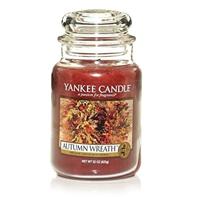 Yankee Candle Autumn Wreath , Food & Spice Scent