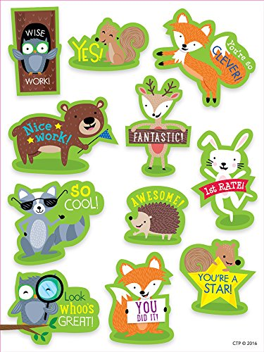 Creative Teaching Press Woodland Friends Woodland Rewards Stickers (4199)