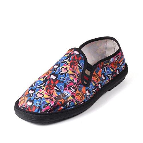 LvYuan Los zapatos tradicionales chinos unisex del paño / retro ocasional respiran los zapatos del bordado / los zapatos de Kung Fu / los artes marciales / deslizan-en los zapatos 8#