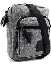 ekavale - Męska torba na ramię mała – torba na ramię na telefon komórkowy dla mężczyzn – Messenger Crossbody Bag – torba unisex na tablet