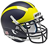 NCAA Michigan Wolverines Mini Helmet, One Size