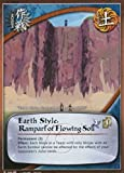 Naruto Card - Earth Style: Rampart of Flowing Soil 588 - Broken Promise - Common - Foil - 1st Edition
