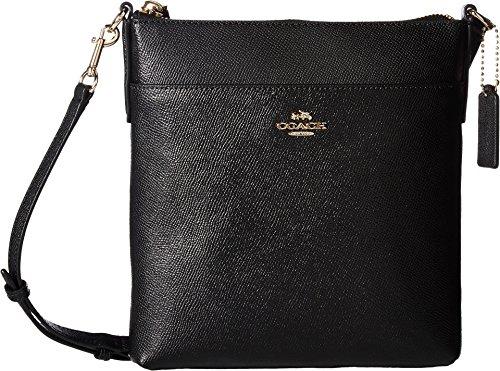 COACH Women's Messenger Crossbody Li/Black Crossbody Bag