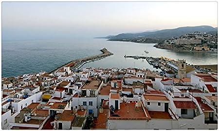 España casas marinas desde arriba Valencia Peñíscola ciudades ...