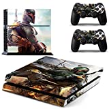 Vanknight Vinyl Decal Skin Sticker Boba Fett for PS4 Playstaion 4 Controllers Star Wars For Sale