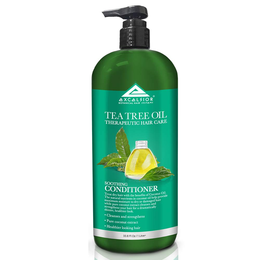 Excelsior Tea Tree Oil Therapeutic Hair Care Conditioner 33.8 oz. (Pack of 6)
