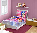 Shimmer & Shine Toddler Bedding Set, Pink/Blue