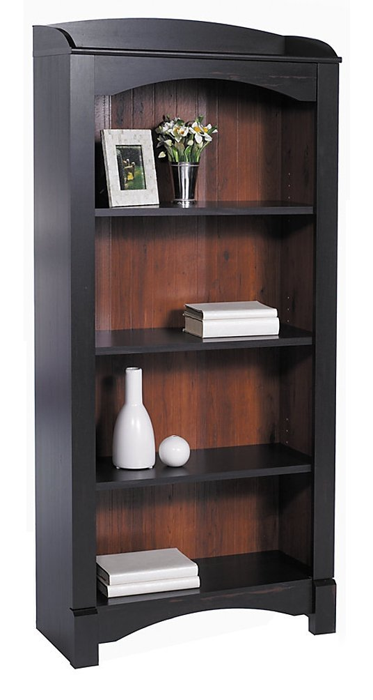 Amazon.com: Realspace Shore Mini Solutions 4-Shelf Bookcase, Antique Black:  Kitchen & Dining - Amazon.com: Realspace Shore Mini Solutions 4-Shelf Bookcase