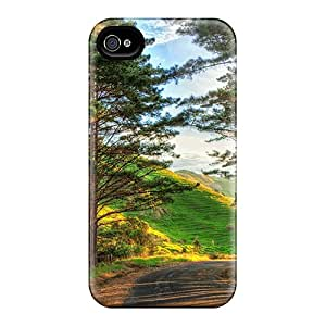 Hot Fashion EmX30222UYSg Design Cases Covers For Iphone 6 Protective Cases (fabulous Country Road In Sunshine Hdr)