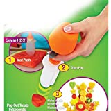 1 set Fruit Salad Carving Vegetable Fruit Arrangement Smoothie Cake Tool Kitchen Dining Bar Cooking