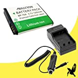 Halcyon 1200 mAH Lithium Ion Replacement Battery and Charger Kit for Samsung PL120 14.2 MP Digital Camera and Samsung BP-70A