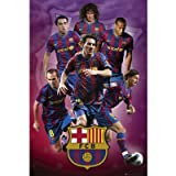 "Official Licensed FC FCB Barcelona Poster with Players - 24"" x 36"""