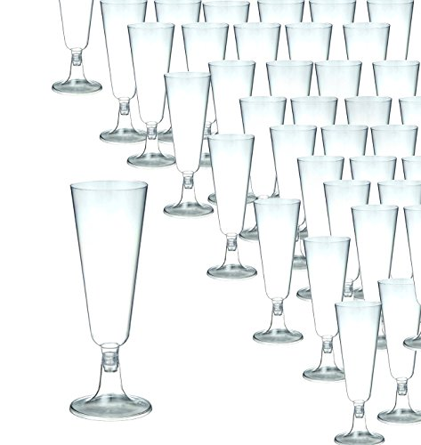 Review Champagne Flutes – 50-Count