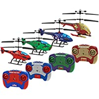 Captain America, Iron Man, Hulk, Spider-Man 2CH IR Herocopter 4-Pack Bundle