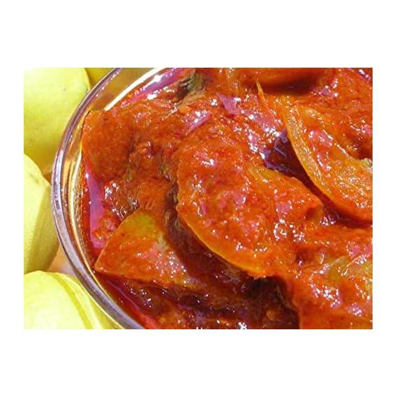 FARMORY Homemade Sweet and Sour Lemon Pickle (Nimbu ka Achaar), No Preservatives Khatta Meetha Lime Lemon Pickles (200GM