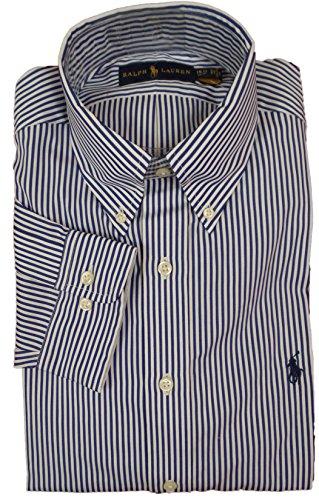 polo-ralph-lauren-mens-pony-logo-striped-dress-shirt-155-32-33-royal-white