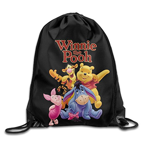 Bear Carrying Man Costume (The Pooh Drawstring Backpack)
