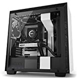 NZXT H700 Desktop Computer Case, CA-H700B-W1, White/Black