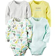 Carter's Baby Multi-Pk Bodysuits 126g362, Yellow, 3 Months