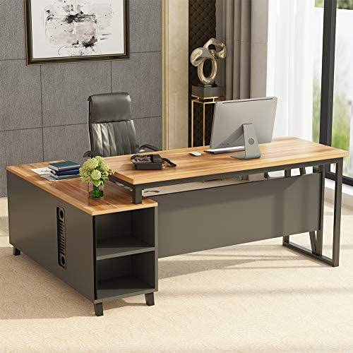 Tribesigns Large L-Shaped Desk